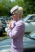 MICHELLE HERBERT, Lunch part hosted by Liz Brewer and Mrs. George Piskova in No; 1 car-park. . Royal Ascot. Tuesday. 14 June 2011. <br /> <br />  , -DO NOT ARCHIVE-© Copyright Photograph by Dafydd Jones. 248 Clapham Rd. London SW9 0PZ. Tel 0207 820 0771. www.dafjones.com.