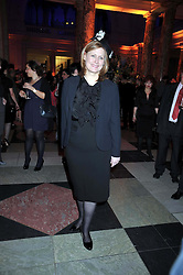 SARAH BROWN at Hats - an antology of Stephen Jones held at the V&A, London on 23rd February 2009.