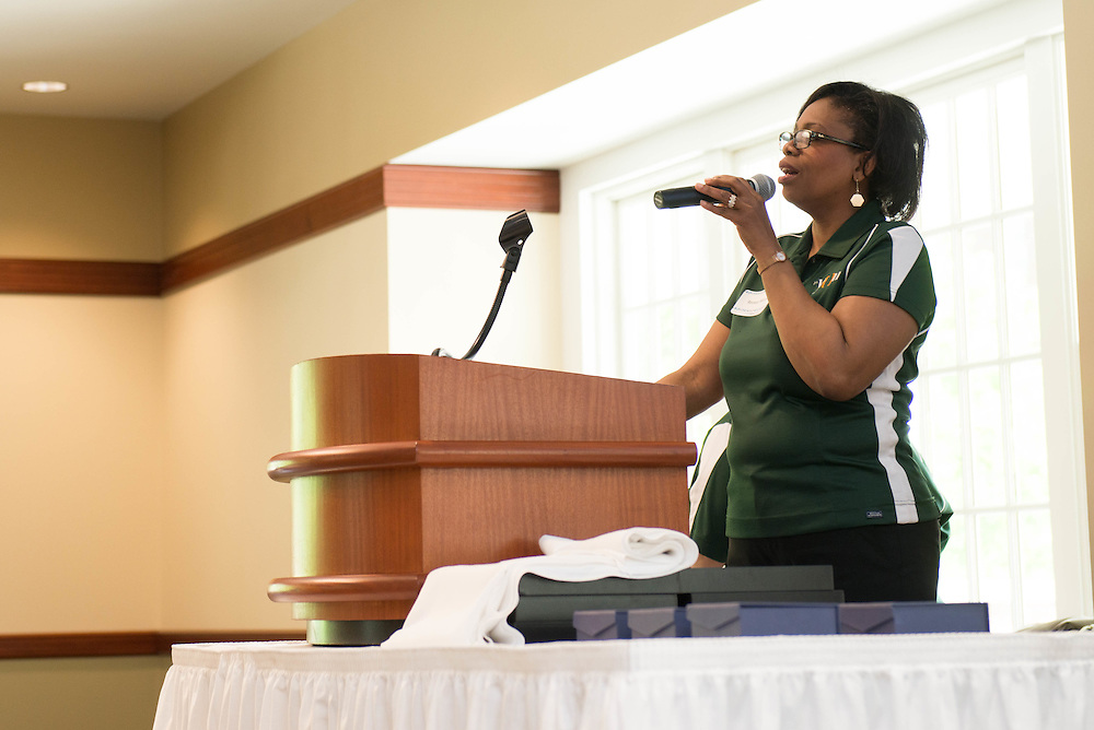 The Campus Communicator Network Expo in Nelson Commons on Wednesday, May 11, 2016. © Ohio University / Photo by Kaitlin Owens