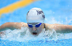 Megan Allison competes in the Women's 200m Open 200m Butterfly heats during day three of the 2017 British Swimming Championships at Ponds Forge, Sheffield.