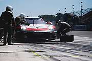 June 28 - July 1, 2018: IMSA Weathertech 6hrs of Watkins Glen. 912 Porsche GT Team, Porsche 911 RSR, Laurens Vanthoor, Earl Bamber