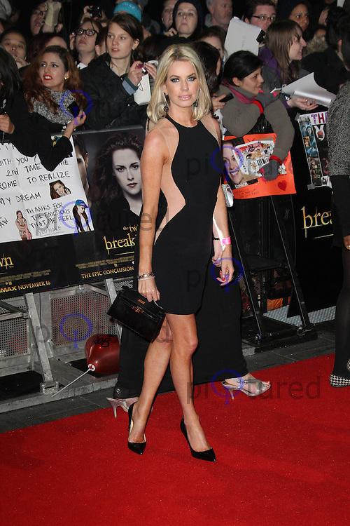 LONDON - NOVEMBER 14: Caroline Stanbury attended the UK Film Premiere of 'The Twilight Saga: Breaking Dawn - Part Two', Empire cinema, Leicester Square, London, UK. November 14, 2012. (Photo by Richard Goldschmidt)