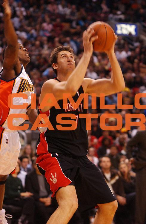 DESCRIZIONE : Toronto Amichevole Precampionato NBA 2008-2009 Toronto Raptors Golden State Warriors<br /> GIOCATORE : Andrea Bargnani<br /> SQUADRA : Toronto Raptors Golden State Warriors<br /> EVENTO : Campionato NBA 2007-2008 <br /> GARA : Toronto Raptors Golden State Warriors<br /> DATA : 31/10/2008 <br /> CATEGORIA : <br /> SPORT : Pallacanestro <br /> AUTORE : Agenzia Ciamillo-Castoria/V.Keslassy<br /> Galleria : NBA 2008-2009<br /> Fotonotizia : Toronto Amichevole Precampionato NBA 2008-2009 Toronto Raptors Golden State Warriors<br /> Predefinita :