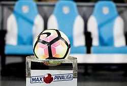 Ball prior to the football match between HNK Rijeka and HNK Hajduk Split in Round #15 of 1st HNL League 2016/17, on November 5, 2016 in Rujevica stadium, Rijeka, Croatia. Photo by Vid Ponikvar / Sportida