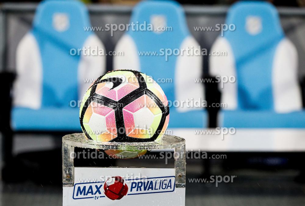 Ball prior to the football match between HNK Rijeka and HNK Hajduk Split in Round #15 of 1st HNL League 2016/17, on November 5, 2016 in Rujevica stadium, Rijeka, Croatia. Photo by Vid Ponikvar / Sportida