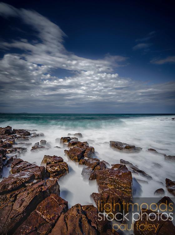 "Coastal Blur Series _ Shellharbour 40.9cmx54.8cm (16"" x 21"") Edition of 5"