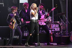 03.10.2015, Frankfurt am Main, GER, Tag der Deutschen Einheit, im Bild Sarah Connor, Konzerte auf der Hitradio FFH Bühne an der Alten Oper // during the celebrations of the 25 th anniversary of German Unity Day in Frankfurt am Main, Germany on 2015/10/03. EXPA Pictures © 2015, PhotoCredit: EXPA/ Eibner-Pressefoto/ Roskaritz<br /> <br /> *****ATTENTION - OUT of GER*****