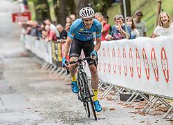 02.07.2017, Graz, AUT, Ö-Tour, Österreich Radrundfahrt 2017, 1. Etappe, Prolog, im Bild Lukas Schlemmer (AUT, Team Felbermayr Simplon Wels) // Lukas Schlemmer (AUT, Team Felbermayr Simplon Wels) during Stage 1, Prolog of 2017 Tour of Austria. Graz, Austria on 2017/07/02. EXPA Pictures © 2017, PhotoCredit: EXPA/ Reinhard Eisenbauer