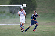 Sussex County Community College Men's Soccer sophomore Brad Van Treuren (10) -Middlesex County College Men's Soccer at Sussex County Community College in Newton, NJ on Saturday September 6, 2014. (photo / Mat Boyle)