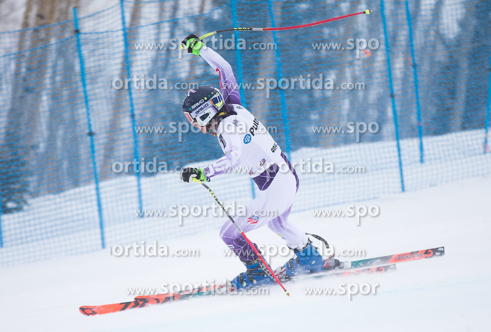 30.01.2015, Golden Peak Strecke, Vail, USA, FIS Weltmeisterschaften Ski Alpin, Training, im Bild Laurenne Ross (USA) // Laurenne Ross of the USA in Action during a practice run for the FIS Ski World Championships 2015 at the Golden Peak Course, Vail, United States on 2015/01/30. EXPA Pictures © 2015, PhotoCredit: EXPA/ Johann Groder