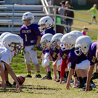 Berryville 3rd & 4th Grade Mighty  Mite vs. Huntsville (10-10-15)