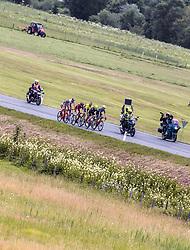 11.07.2019, Kitzbühel, AUT, Ö-Tour, Österreich Radrundfahrt, 5. Etappe, von Bruck an der Glocknerstraße nach Kitzbühel (161,9 km), im Bild Spitzengruppe, Feature // Spitzengruppe, Feature during 5th stage from Bruck an der Glocknerstraße to Kitzbühel (161,9 km) of the 2019 Tour of Austria. Kitzbühel, Austria on 2019/07/11. EXPA Pictures © 2019, PhotoCredit: EXPA/ JFK