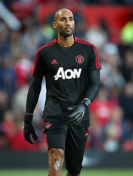 Manchester United goalkeeper Lee Grant during the Premier League match at Old Trafford, Manchester