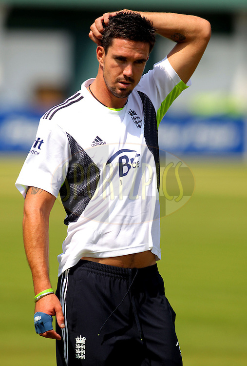 © SPORTZPICS / Seconds Left Images 2010 - Kevin Pietersen - England Cricket Nets - Lord's Cricket Ground  St. John's Wood, London 25/06/2010 -  All rights reserved.