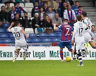 Inverness&rsquo; Liam Polworth scores his side's third - Inverness Caledonian Thistle v Dundee in the Ladbrokes Scottish Premiership at Caledonian Stadium, Inverness. Photo: David Young<br /> <br />  - &copy; David Young - www.davidyoungphoto.co.uk - email: davidyoungphoto@gmail.com
