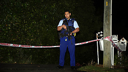 Police and St John were called to Connaught Street, Blockhouse Bay shortly after 1 am following reports of an Incident, one person is deceased at the scene and a scene guard is in place, Auckland, New Zealand, Saturday, November 04, 2017. Credit:SNPA / Hayden Woodward**NO ARCHIVING**