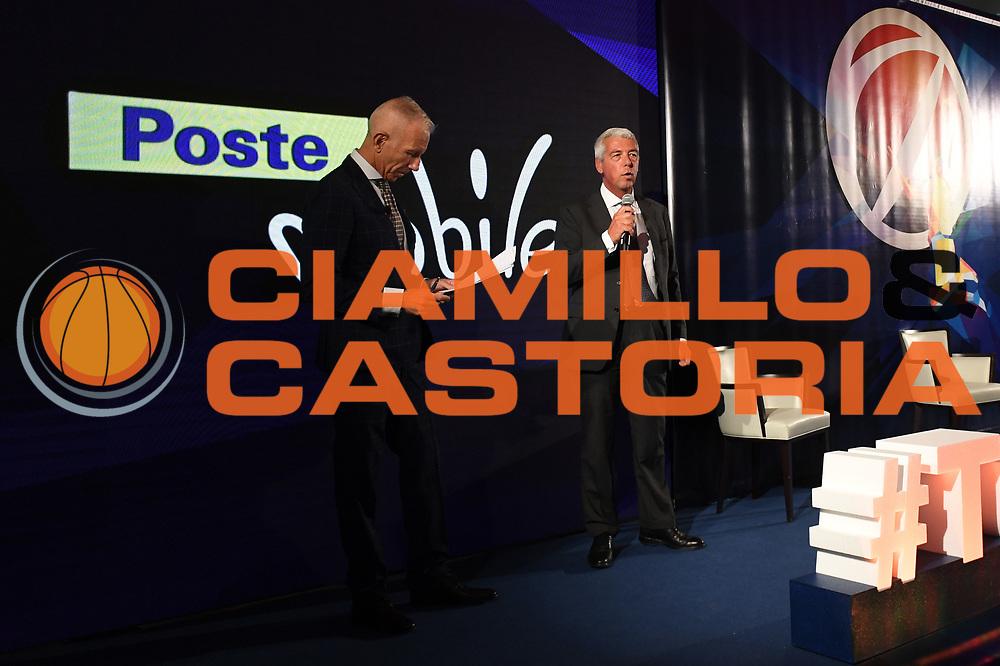 poste mobile stefano santini<br /> Presentazione Campionato Serie A Poste Mobile 2017/18<br /> Lega Basket Serie A 2017/2018<br /> Castel San Pietro Terme, 25/09/2017<br /> Foto M.Ceretti / Ciamillo - Castoria