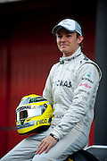 Nico Rosberg (GER) on February 21, 2012: Formula One Testing, Circuit de Catalunya, Barcelona, Spain, World Copyright: Jamey Price