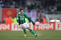 FOOTBALL - FRENCH CHAMPIONSHIP 2011/2012 - L1 - TOULOUSE FC v AS SAINT ETIENNE - 12/02/2012 - PHOTO MANUEL BLONDEAU / DPPI - FABIEN LEMOINE