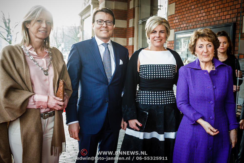 NLD/Amsterdam/20160315 - Uitreiking van de ECF Princess Margriet Award, groepsfoto