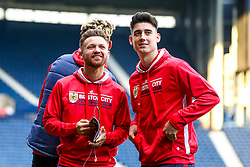 Matty Taylor of Bristol City and Callum O'Dowda of Bristol City arrives at the Hawthorns for the Sky Bet Championship fixture against West Bromwich Albion - Mandatory by-line: Robbie Stephenson/JMP - 18/09/2018 - FOOTBALL - The Hawthorns - West Bromwich, England - West Bromwich Albion v Bristol City - Sky Bet Championship