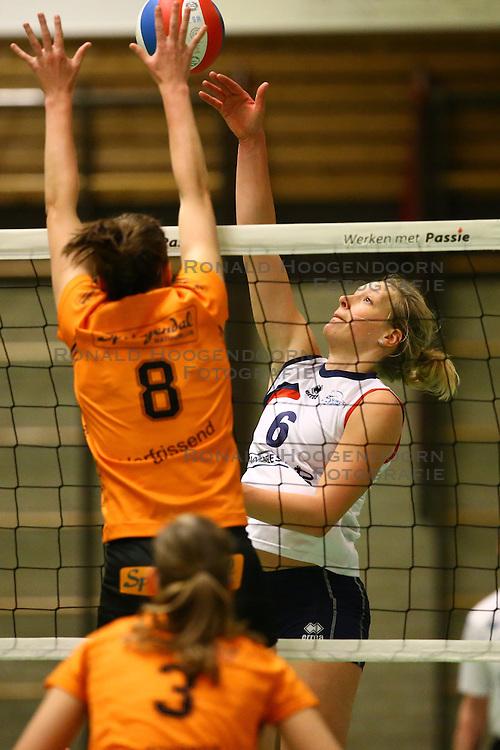 20160319 NED: Volleybal: Sliedrecht Sport - Springendal Set Up 65, Sliedrecht<br />Angelique Vergeer