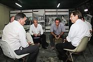 Javier Miranda reunido con Intendentes del F.A.