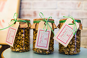Salted caramel popcorn for sale in Nala Designs in Bangsar, Kuala Lumpur, Malaysia, on 18 August 2015. Nala Designs, by founder and designer Lisette Scheers, is inspired by Malaysia's melting pot of Chinese, Malay and Indian cultures. Photo by Suzanne Lee for Monocle