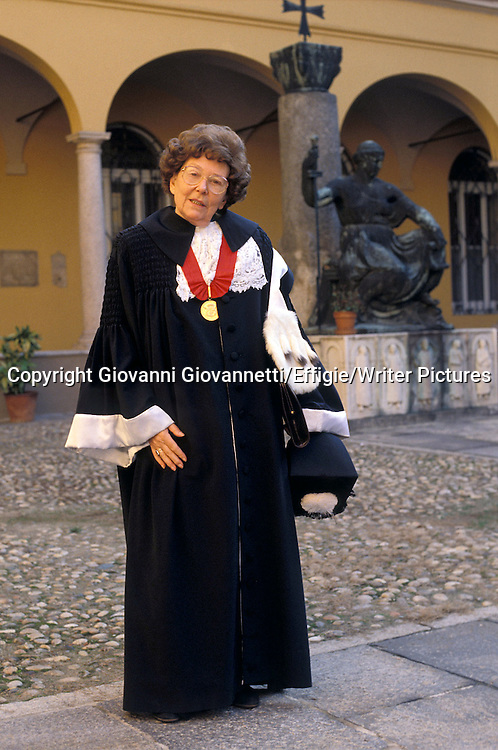 Maria Corti<br /> <br /> <br /> 26/02/2009<br /> Copyright Giovanni Giovannetti/Effigie/Writer Pictures<br /> NO ITALY, NO AGENCY SALES