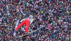 03.01.2016, Bergisel Schanze, Innsbruck, AUT, FIS Weltcup Ski Sprung, Vierschanzentournee, Bewerb, im Bild Anders Fannemel (NOR) // Anders Fannemel of Norway during his Competition Jump of Four Hills Tournament of FIS Ski Jumping World Cup at the Bergisel Schanze, Innsbruck, Austria on 2016/01/03. EXPA Pictures © 2016, PhotoCredit: EXPA/ Jakob Gruber
