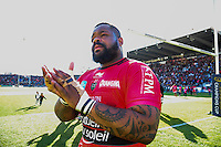 Mathieu BASTAREAUD - 05.04.2015 - Toulon / Londres Wasps - 1/4Finale European Champions Cup<br />