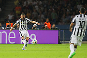 Leonardo Bonucci of Juventus during the Champions League Final between Juventus FC and FC Barcelona at the Olympiastadion, Berlin, Germany on 6 June 2015. Photo by Phil Duncan.