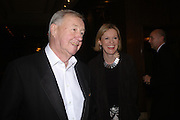 Sir Terence and Lady Victoria Conran. Conde Nast Traveller Tsunami Appeal dinner. Four Seasons  Hotel. Hamilton Place, London W1. 2 March 2005. ONE TIME USE ONLY - DO NOT ARCHIVE  © Copyright Photograph by Dafydd Jones 66 Stockwell Park Rd. London SW9 0DA Tel 020 7733 0108 www.dafjones.com