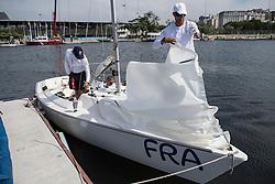 Bruno Jourdren, Eric Flaguel, Nicolas Vimont-Vicary, Equipe Sonar, Voile at Rio 2016 Paralympic Games, Brazil
