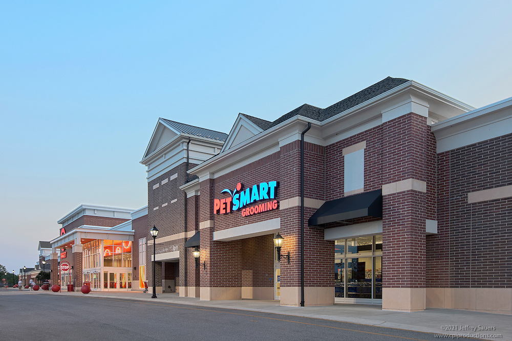 Target Center Retail Center in Easton MD image by architectural photographer Jeffrey Sauers..