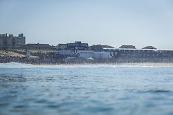 October 12, 2017 - crowd during Round One at Quiksilver Pro France 2017, Hossegor, France..Quiksilver Pro France 2017, Landes, France - 12 Oct 2017 (Credit Image: © WSL via ZUMA Press)