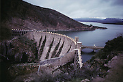 Hydro Electric Energy: Roosevelt Dam near Phoenix, Arizona. (1987).