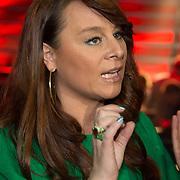 NLD/Amsterdam/20131129 - The Voice of Holland 2013, 3de show, Trijntje Oosterhuis in gesprek met Wudstik, Jermain van der Bogt