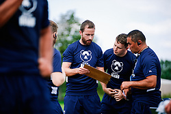 Head of S&C Kevin Geary in action  during week 1 of Bristol Bears pre-season training ahead of the 19/20 Gallagher Premiership season - Rogan/JMP - 03/07/2019 - RUGBY UNION - Clifton Rugby Club - Bristol, England.