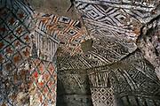 Spirally formed Precolumbian Tombs (hypogeos), Tierradentro, Colombia