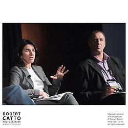 Rebecca Batties;Neil Harraway at the Spada Conference 06 at the Hyatt Regency Hotel, Auckland, New Zealand.<br />