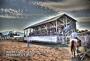 Helmville, Montana  Rodeo