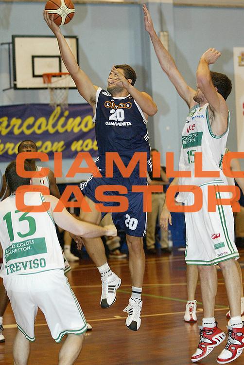 DESCRIZIONE : Moncalieri Precampionato Lega A1 2006-07 Trofeo Citta di Moncalieri Benetton Treviso Lottomatica Roma<br /> GIOCATORE : Marmarinos <br /> SQUADRA : Lottomatica Roma <br /> EVENTO : Precampionato Lega A1 2006-2007 Trofeo Citta di Moncalieri <br /> GARA : Benetton Treviso Lottomatica Roma<br /> DATA : 15/09/2006 <br /> CATEGORIA : Tiro <br /> SPORT : Pallacanestro <br /> AUTORE : Agenzia Ciamillo-Castoria/G.Cottini