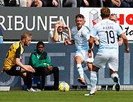 FODBOLD: Johannes Ritter (FC Helsingør) under kampen i ALKA Superligaen mellem Hobro IK og FC Helsingør den 16. juli 2017 på DS Arena i Hobro. Foto: Claus Birch