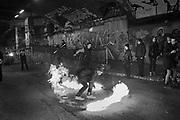 London Fire Spinners, ,spininng@,  Leake St. Underneath Waterloo station, Waterloo, London.  10 February 2017