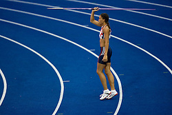 Louise Hazel of Great Britain & Northern Ireland competes in the women's Heptathlon (Javelin Throw) Final during day two of the 12th IAAF World Athletics Championships at the Olympic Stadium on August 16, 2009 in Berlin, Germany.(Photo by Vid Ponikvar / Sportida)