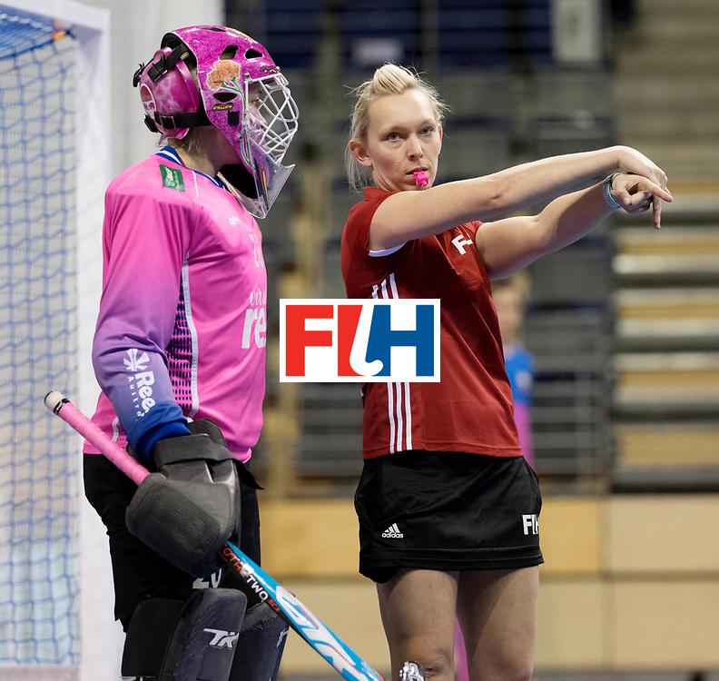 BERLIN - Indoor Hockey World Cup<br /> Women: Germany  - Australia<br /> foto: Sarah Wilson.<br /> WORLDSPORTPICS COPYRIGHT FRANK UIJLENBROEK