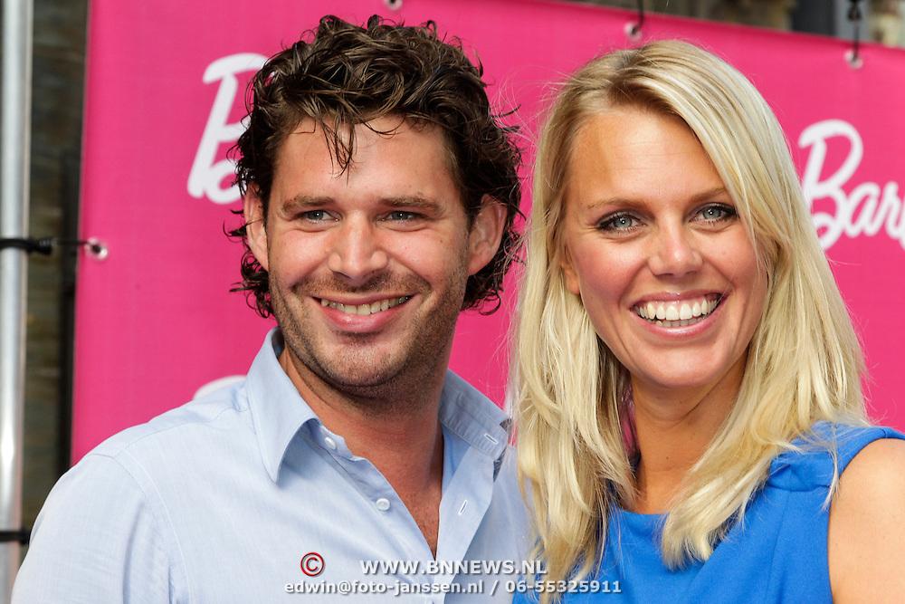 NLD/Amsterdam/20120909- Filmpremiere Barbie, Sanne Heyen en partner