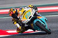 Rodrigo Gabriel of Argentina and RBA BOE Racing Team  rides during free practice for the Moto3 of Catalunya at Circuit de Catalunya on June 10, 2017 in Montmelo, Spain.(ALTERPHOTOS/Rodrigo Jimenez)