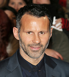 © Licensed to London News Pictures.  Manchester United footballer Ryan Giggs attends The Class of 92  World Film Premiere at The Odeon West End, Leicester Square, London on 01 December 2013. Photo credit: Richard Goldschmidt/LNP